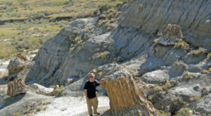 Hike To This Ancient Forest In North Dakota That's Home To 55-Million-Year-Old Trees