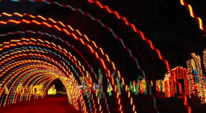 You Will Love This Dreamy Ride Through The Largest Drive-Thru Light Show Near Austin