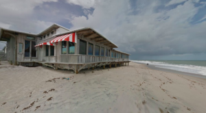 This Former Officer's Club In Florida Is Now A Landmark Restaurant Right On The Atlantic Ocean