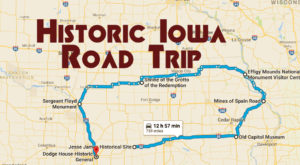 This Road Trip Takes You To The Most Fascinating Historical Sites In All Of Iowa