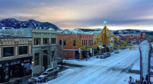 At Christmastime, This Montana Town Has The Most Enchanting Main Street In The Country
