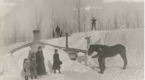 A Massive Blizzard Blanketed North Dakota In Snow In 1920 And It Will Never Be Forgotten