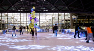 This U.S. Airport Is Bringing Back Its Magical Ice Skating Rink