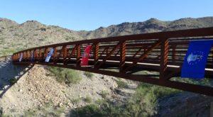 Cross This Massive Bridge Into A Mystical Arizona Mountain Range