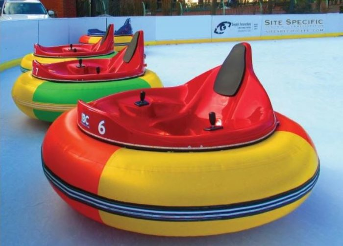 Ride Ice Bumper Cars At Rhode Island S Providence Rink This Winter