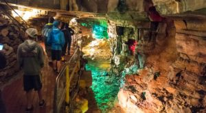 Venture 150 Feet Deep Below The Earth At These One Of A Kind Caverns Near Buffalo