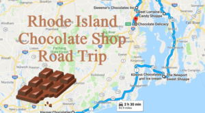 The Sweetest Road Trip in Rhode Island Takes You To 7 Old School Chocolate Shops