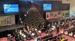 Maryland's Singing Christmas Tree Is Truly A Sight To See