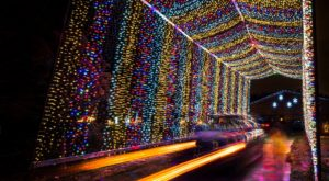 You Will Love This Dreamy Ride Through The Largest Drive-Thru Light Show In Kansas