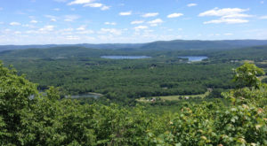 The Breathtaking Overlook In Connecticut That Lets You See For Miles And Miles