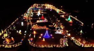 The Magical Light Display Just Outside Of Nashville That Gets Better Year After Year
