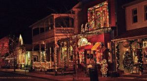 At Christmastime, This Maryland Town Has The Most Enchanting Main Street In The Country