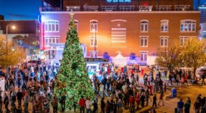 The Magical Oklahoma Christmas Tree That Comes Alive With A Million Colorful Lights