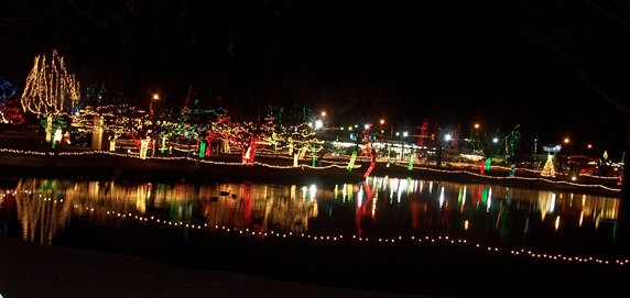 Christmas In The Park.Christmas In The Park In Elk City Oklahoma Is Home To Millions Of