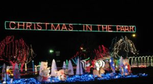 The One Park In Oklahoma That's Home To Millions Of Sparkling Christmas Lights