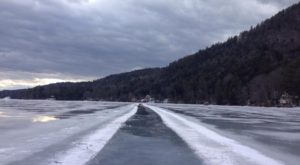This Captivating Ice Trail In Vermont Is The Longest Of Its Kind In America