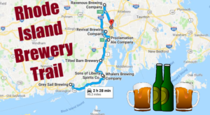 Take The Rhode Island Brewery Trail For A Weekend You'll Never Forget