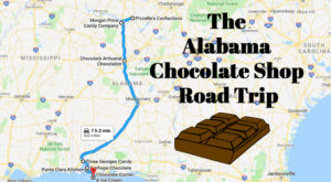 The Sweetest Road Trip In Alabama Takes You To 7 Old School Chocolate Shops