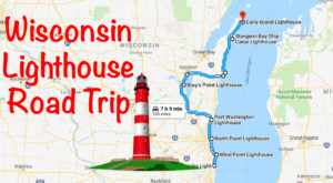 The Lighthouse Road Trip On The Wisconsin Coast That's Dreamily Beautiful
