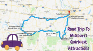 Take This Quirky Road Trip To Visit Missouri's Most Unique Roadside Attractions