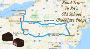 The Sweetest Road Trip in Pennsylvania Takes You To 7 Old School Chocolate Shops