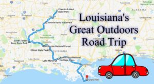Take This Epic Road Trip To Experience Louisiana's Great Outdoors