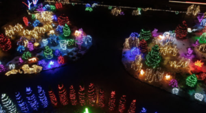 This Little-Known Garden In Idaho Is A Glowing Winter Wonderland You Need To Visit