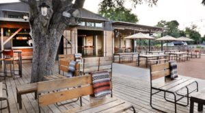 Cozy Up By The Fire At This Enchanting Outdoor Austin Restaurant This Winter