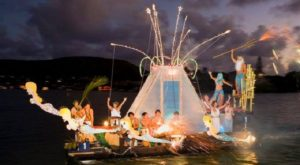 The Christmas Parade In Hawaii That's Unlike Any Other In The World