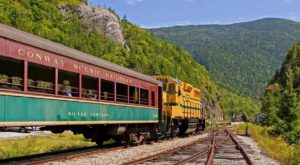 This 60-Mile Train Ride Is The Most Relaxing Way To Enjoy New Hampshire Scenery