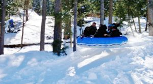 New Mexico Is Home To The Country's Most Underrated Snow Tubing Park And You'll Want To Visit