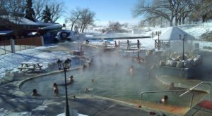 Watching Snow Fall From This One Hot Spring Resort In Utah Is Basically Heaven