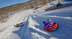 West Virginia Is Home To The Country's Best Snow Tubing Park And You'll Want To Visit