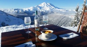 You'll Love A Trip To This Washington Restaurant Above The Clouds