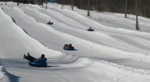 Connecticut Is Home To The Country's Most Underrated Snow Tubing Park And You'll Want To Visit