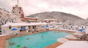 Watching Snow Fall From This One Hot Spring Resort In Virginia Is Basically Heaven