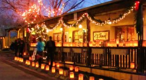 It's Not Christmas Until You've Taken This Enchanting Farolito Walk In New Mexico