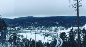The Winter Coaster In South Dakota That Will Take You Through A Snowy Mountain Wonderland
