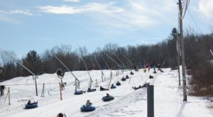 Massachusetts Is Home To The Country's Most Underrated Snow Tubing Park And You'll Want To Visit