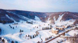The Mountain Coaster Ride Near Buffalo That Will Make Your Winter Unforgettable