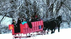 This Wondrous Sleigh Ride In Utah Is A Winter Dream Come True