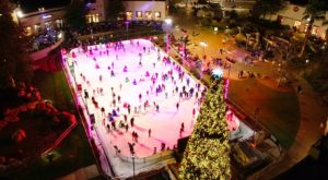 The Largest Outdoor Ice Skating Rink In Southern California That Should Be At The Top Of Your Holiday Bucket List
