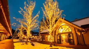 The One Idaho Village That Transforms Into A Christmas Wonderland Each Year