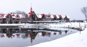 The Michigan Resort That Turns Into A Magical Wonderland Every Winter