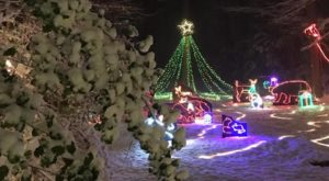 Nothing Beats A Stroll Through The Quirkiest Christmas Display In Maryland