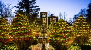 The Georgia Christmas Display That's Been Named Among The Most Beautiful In The World
