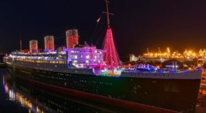 Go Ice Skating Aboard This Haunted Ship In Southern California For The Most Unique Outing Ever
