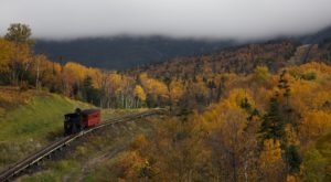 This Mountain Top Miniature Train Ride Through New Hampshire Will Absolutely Delight You