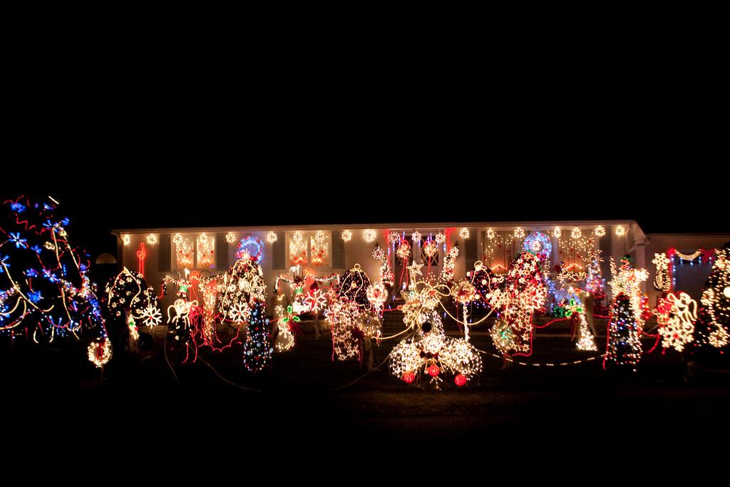 South San Francisco Christmas Lights