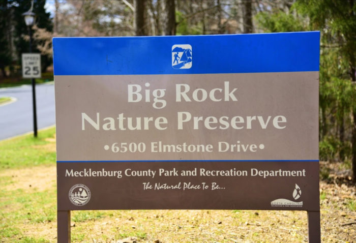 Big Rock Nature Preserve Charlotte Nc